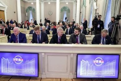 Александр Курлыпо проинформировал депутатов о результатах заключения органов финконтроля на проект бюджета Союзного государства на 2020 год