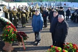Работники Комитета государственного контроля почтили память воинов-интернационалистов