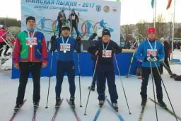 Руководство Комитета госконтроля приняло участие в «Минской лыжне-2017»
