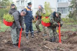 Работники Комитета госконтроля приняли участие в акции «Аднавiм лясы разам!»