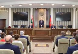 Коллективу Комитета государственного контроля представлен новый руководитель Василий Герасимов