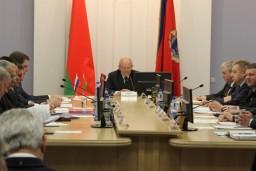 Состоялось совместное заседание коллегий высших органов финансового контроля Беларуси и России
