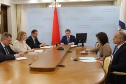 Дмитрий Баско принял участие в заседании государственной комиссии по контролю за ходом подготовки и проведения вступительных испытаний в учреждениях высшего и среднего специального образования