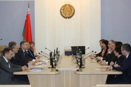 Представители Высшего контрольного управления Словакии и компании «Asseсo Central Europe» с рабочим визитом посетили Комитет госконтроля Беларуси
