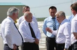 Леонид Анфимов ознакомился с работой Научно-практического центра Национальной академии наук по земледелию