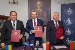 Высшими органами финансового контроля Беларуси, Польши и Украины подписано Коммюнике о результатах международного аудита защиты от загрязнения вод бассейна реки Буг