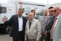 Председатель Комитета госконтроля ознакомился с экспозицией специализированной выставки «Белагро-2018»