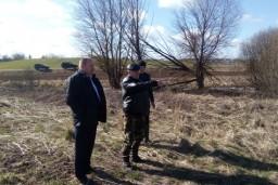 Леонид Анфимов изучил ход посевной кампании в хозяйствах Витебской области
