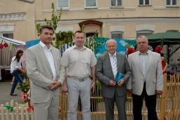 Председатель Комитета госконтроля Леонид Анфимов принял участие в «Вишневом фестивале» в г.Глубокое