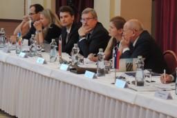 Председатель Комитета госконтроля Беларуси принял участие в заседании руководителей высших органов финансового контроля Вышеградской группы