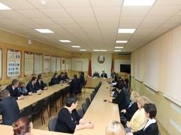 В рамках проведения экономической учебы в Комитете государственного контроля Брестской области состоялось выездное учебное занятие на базе управления внутренних дел Брестского облисполкома