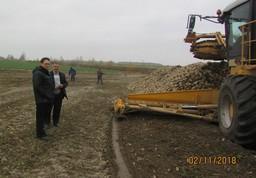 Председатель Комитета государственного контроля Брестской области Баско Д.В. совершил рабочую поездку в Пинский и Лунинецкий районы