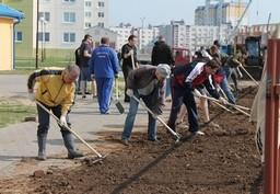 Cотрудники Комитета государственного контроля Брестской области приняли участие в республиканском субботнике.