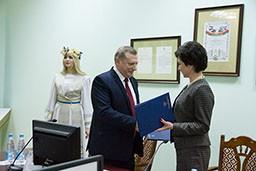 Комитет государственного контроля Гродненской области и ГрГУ имени Янки Купалы заключили договор о сотрудничестве.