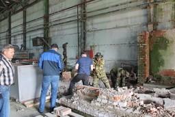 проведен субботник в г.Орше на территории и в цехах ОАО «Завод приборов автоматического контроля».