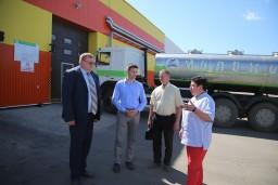 Председатель Комитета госконтроля Могилевской области в ходе рабочей командировки посетил ряд учреждений и организаций города Горки