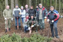 Работники Комитета госконтроля и финансовой милиции Могилевской области приняли участие в республиканской акции «Чистый лес»