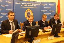 В Комитете государственного контроля Могилевской области прошел брифинг с представителями республиканских и местных СМИ по вопросам развития в регионе рыбохозяйственной отрасли