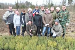 Работники Комитета госконтроля Могилевской области приняли участие в десятой юбилейной республиканской акции «Неделя леса»