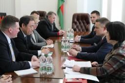 В Комитете государственного контроля Могилевской области прошла рабочая встреча с главой Представительства Международного банка реконструкции и развития в Республике Беларусь Ян Чул Кимом