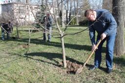 Работники Комитета госконтроля Могилевской области и УДФР приняли участие в республиканском субботнике