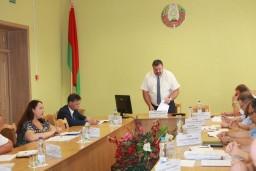На заседании коллегии Комитета государственного контроля Гомельской области рассмотрены проблемы развития плодоводства